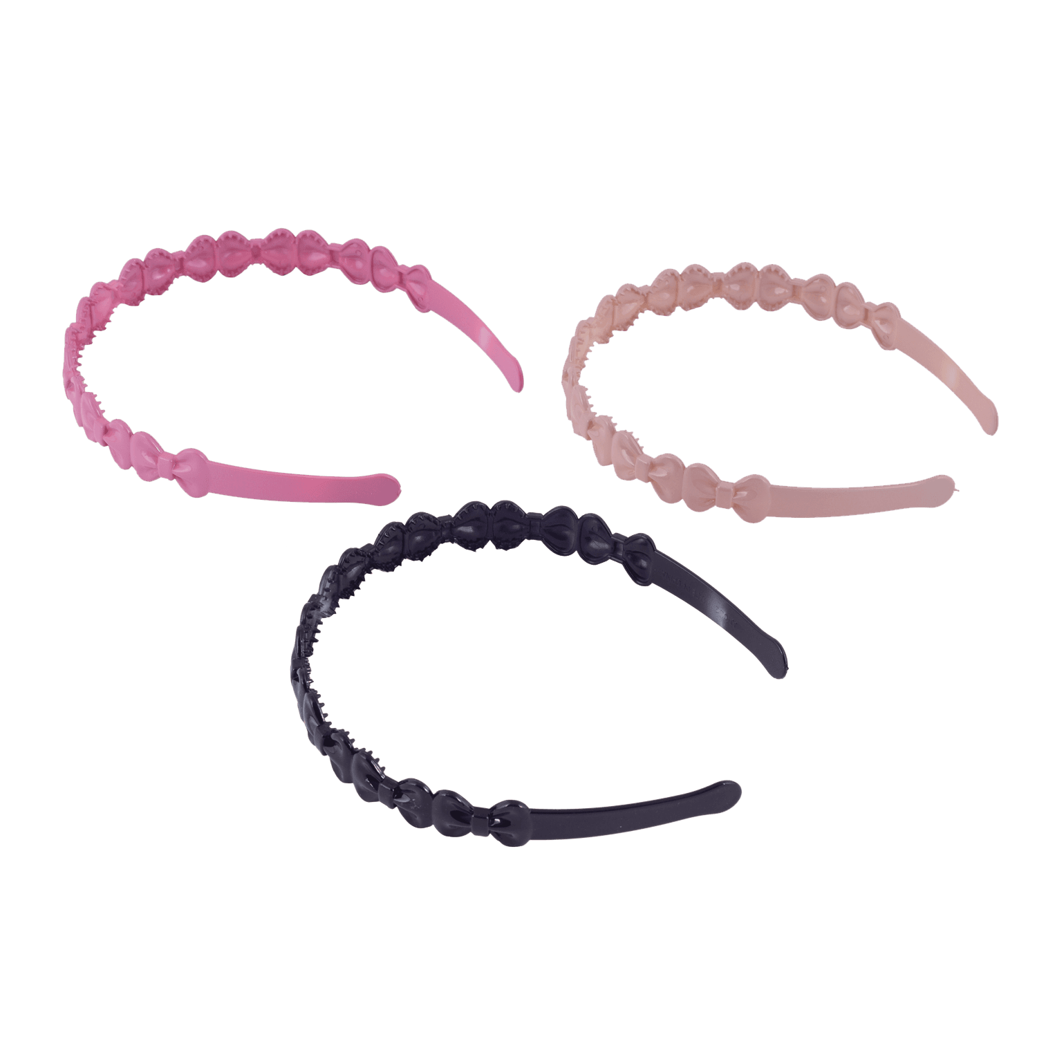 INFINITY BOW HAIR BAND 3 PCS