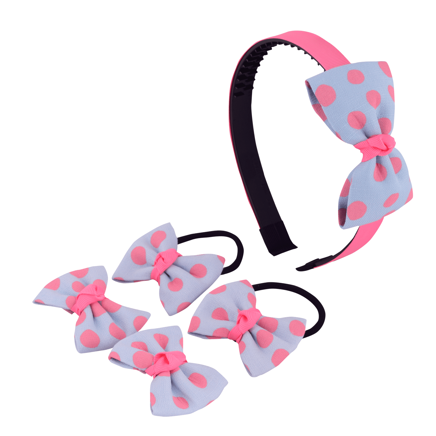 polka-bow-hair-accessory-set-hofa6016lblpin