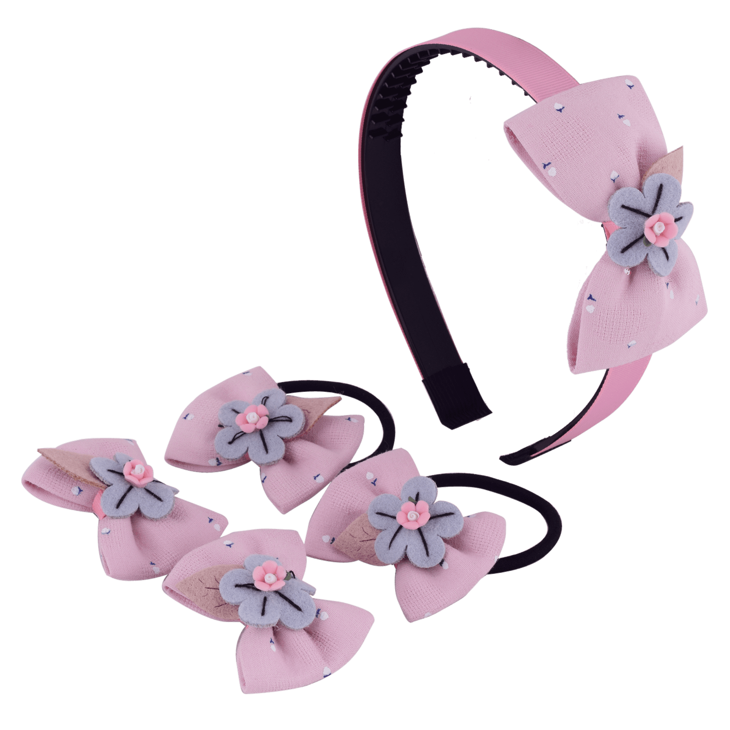 floral-bow-hair-accessory-set-hofa6017pinblu