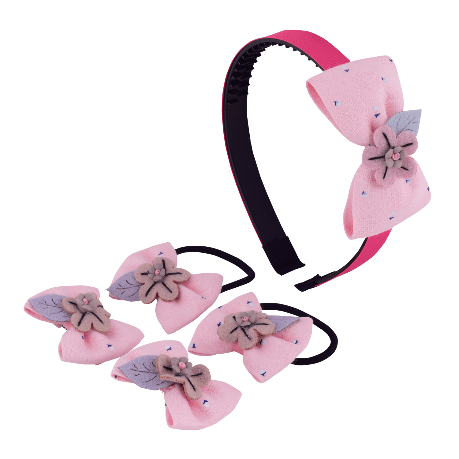 floral-bow-hair-accessory-set-hofa6017pinbro