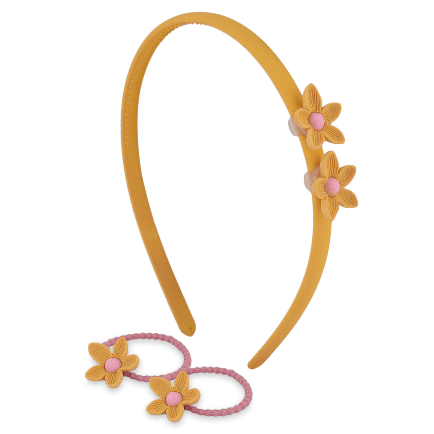 DAFFODIL HAIR ACCESSORY SET