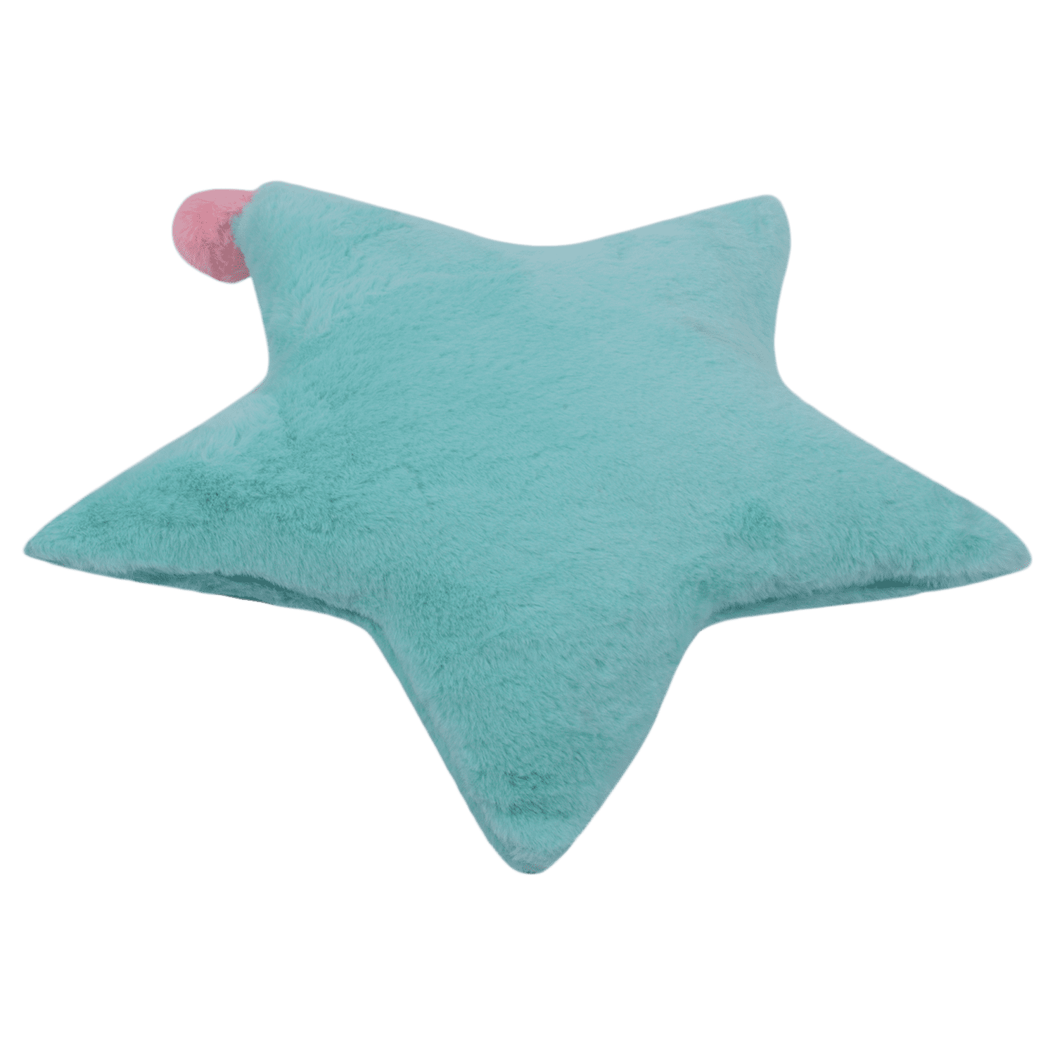 star-plush-fur-cushion-rdcu7007gre