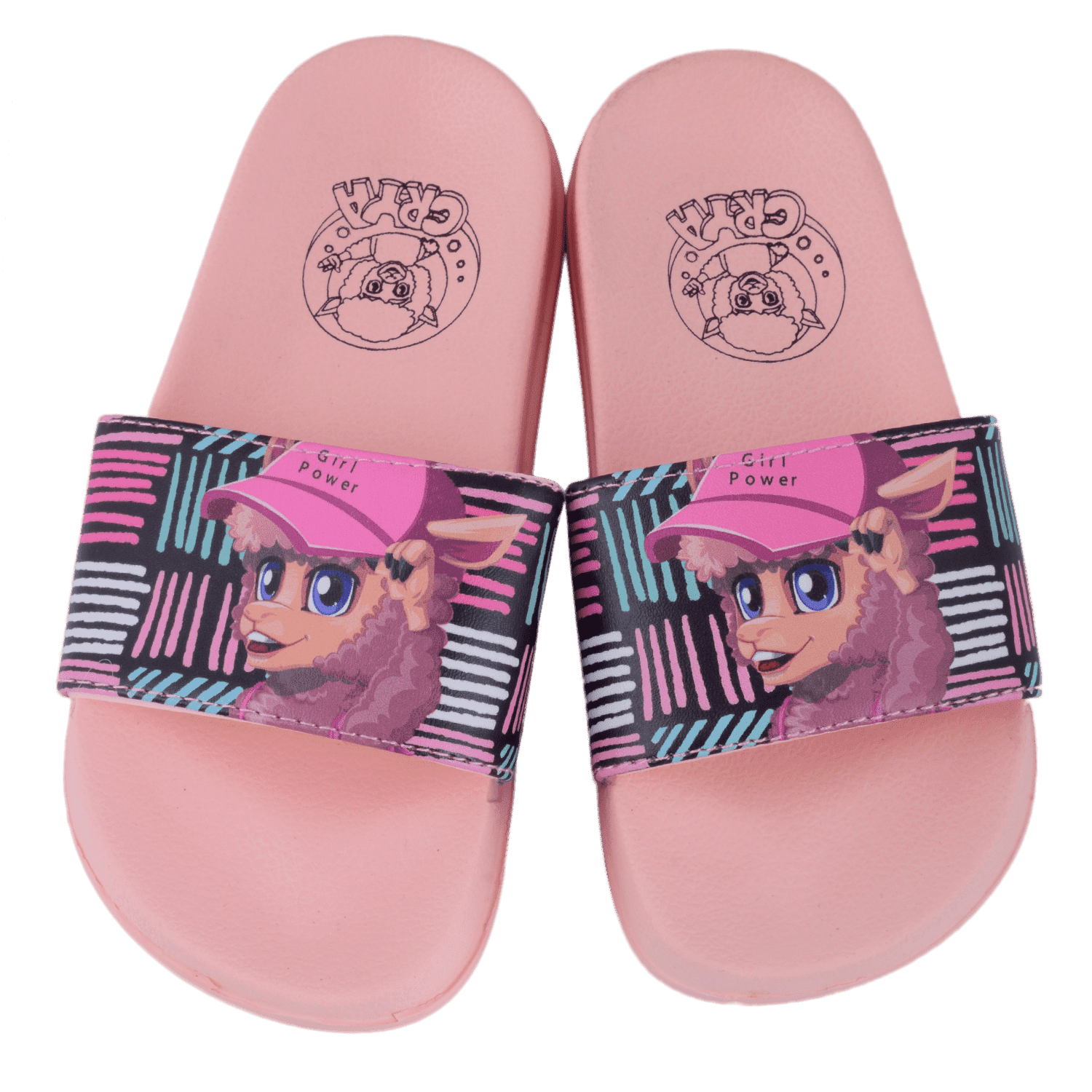 crya-girl-power-slide-on-slipper-slsl8002girpin