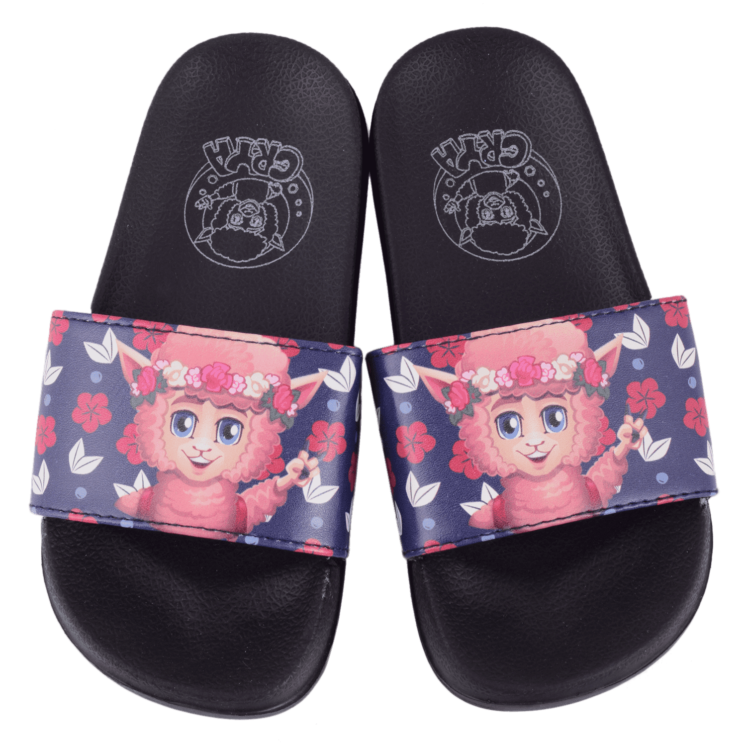 crya-floral-slide-on-slipper-slsl8004flobla