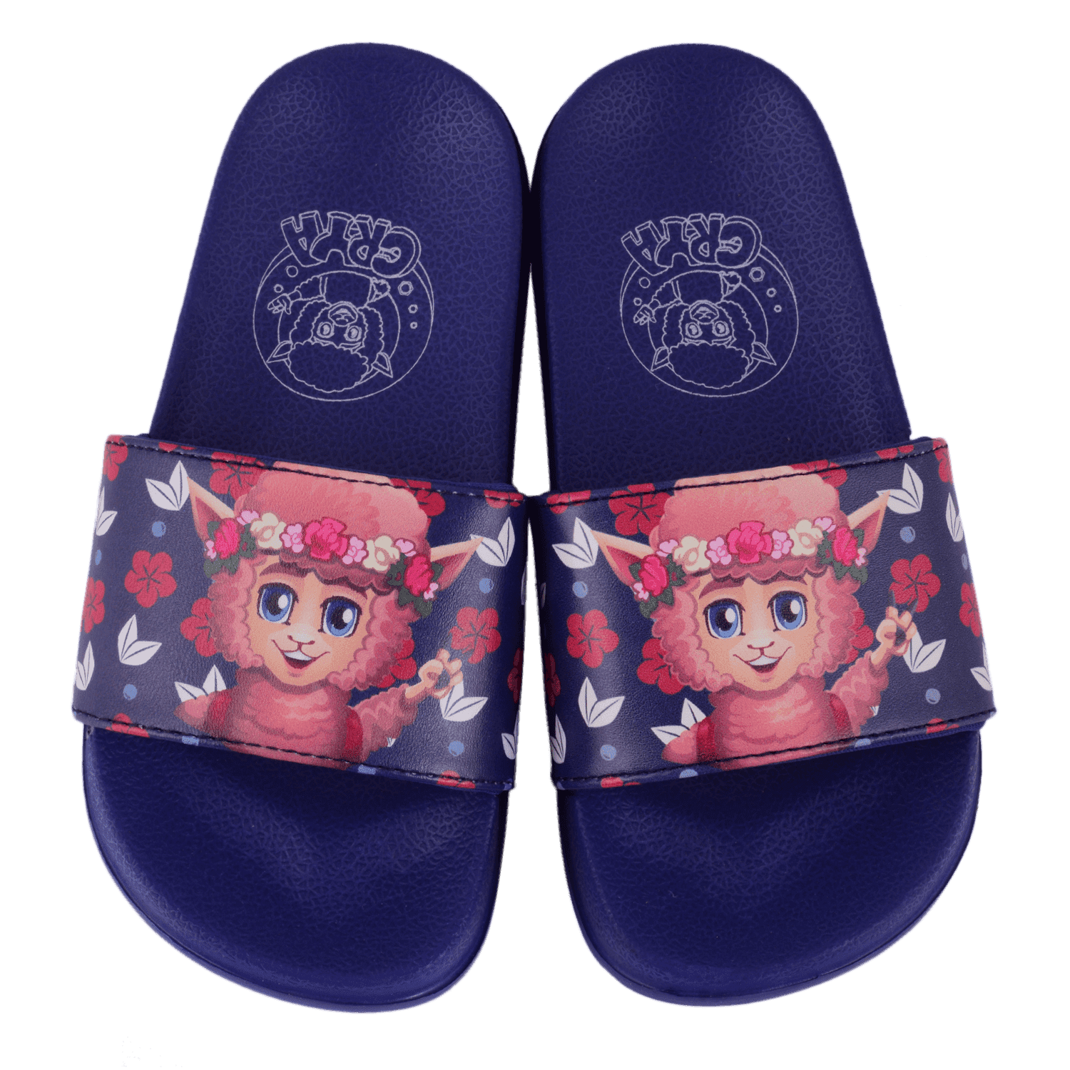 crya-floral-slide-on-slipper-slsl8004floblu