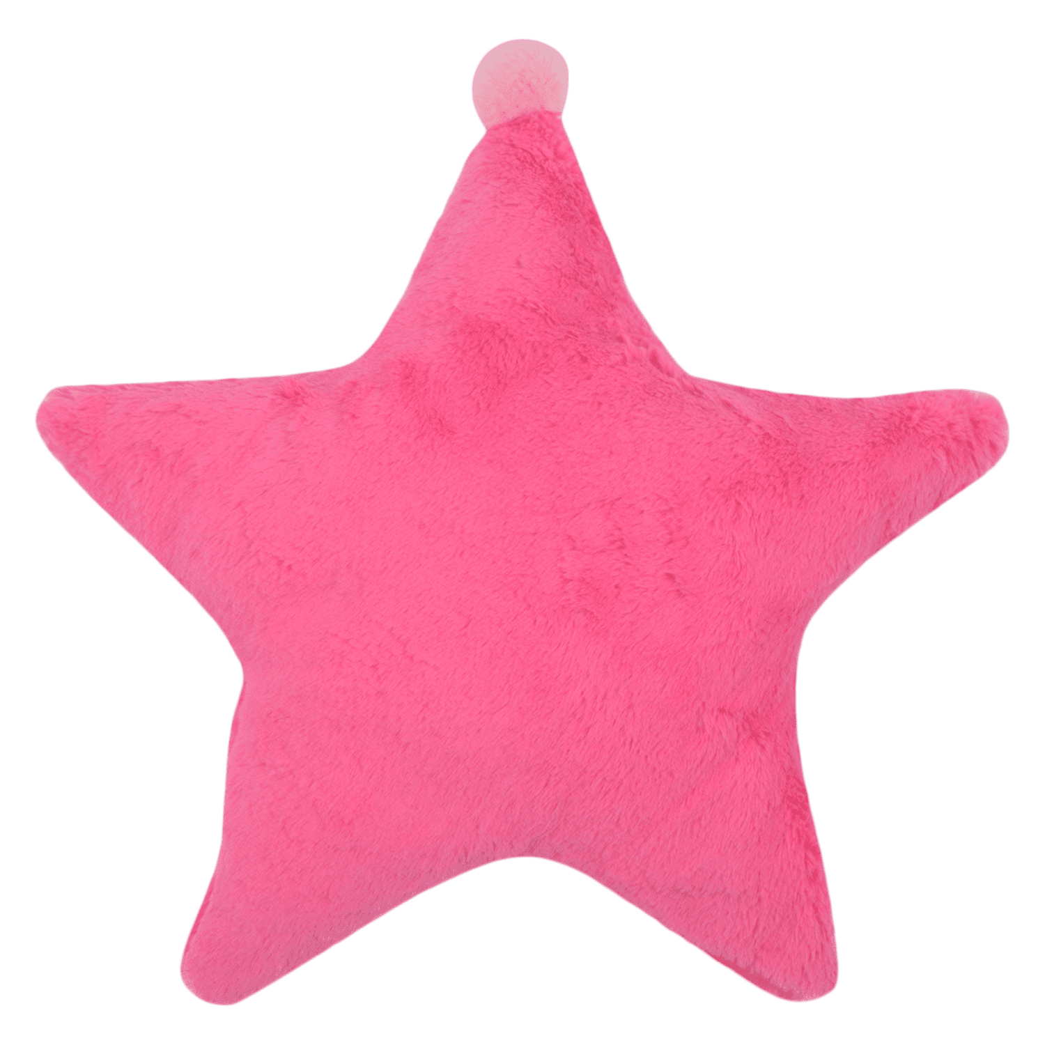 STAR PLUSH FUR CUSHION