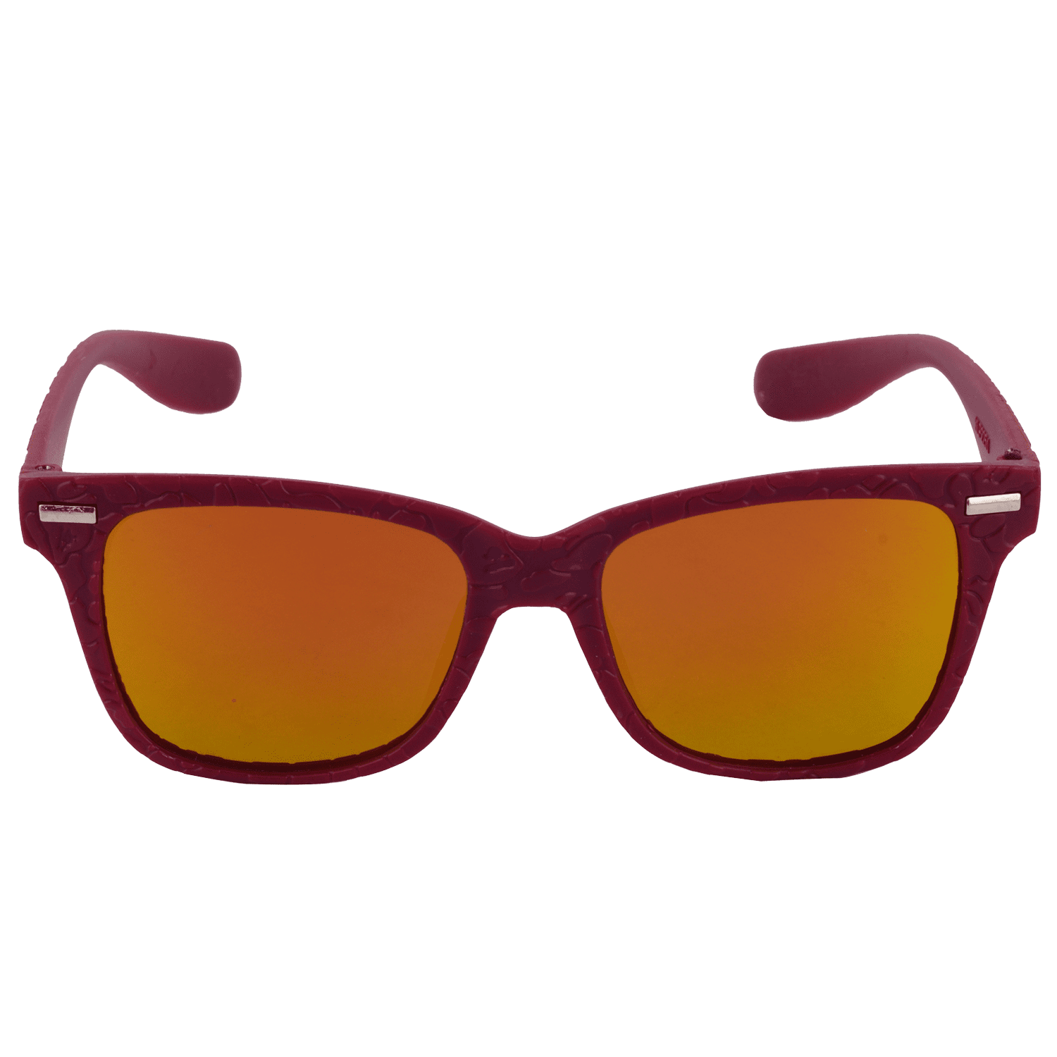 MIRRORED WAYFARER SUNGLASS